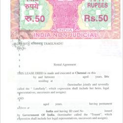 rental agreement in maharashtra