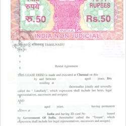 rental agreement in maharashtra